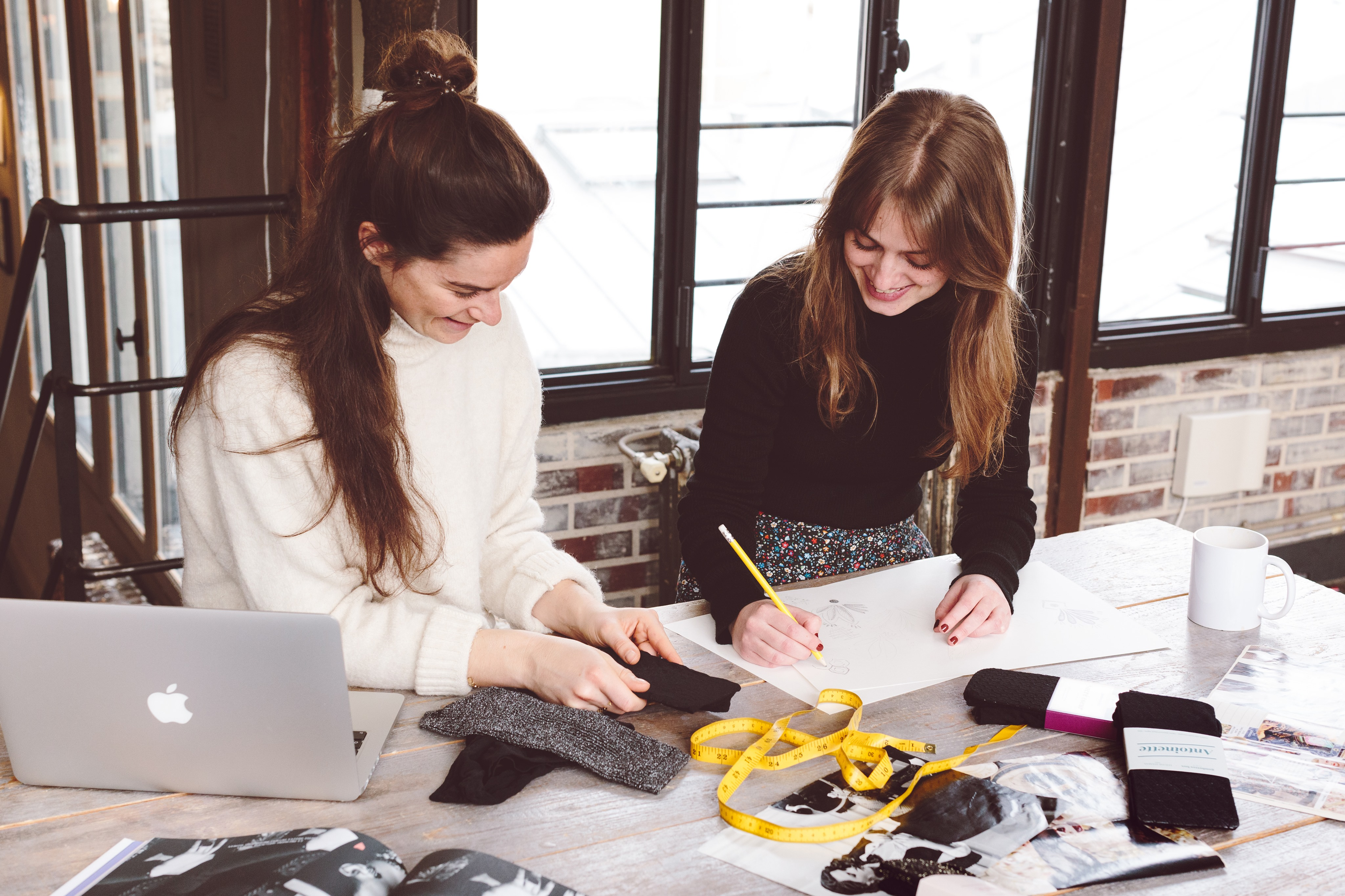 Gambettes image Wie werden Deine Strumpfhosen<br> entworfen?